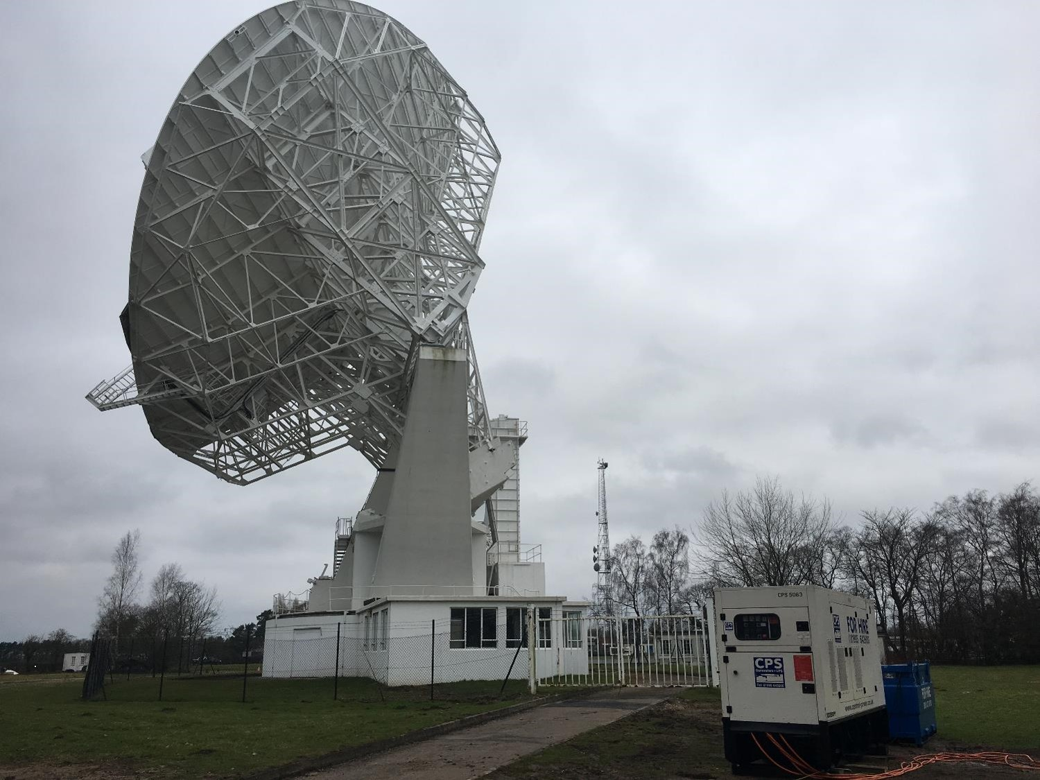Jodrell Bank Telescope | Central Power Services