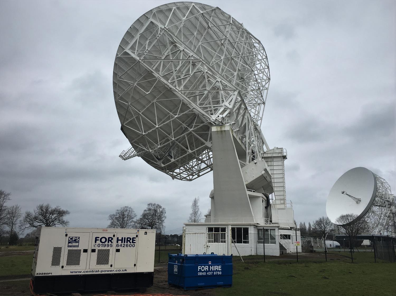 CPS Powers Jodrell Bank Telescope