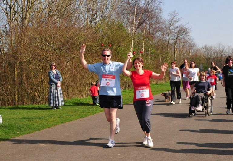 CPS Runs for Sport Relief!